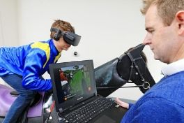 Using Virtual Reality to analyse jockey performance